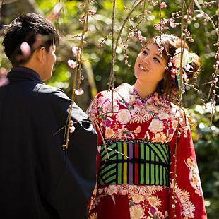 着物で鎌倉デート カップルプランのイメージ
